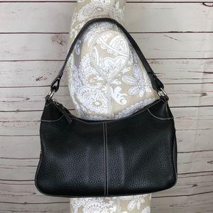 Black Leather Dooney & Bourke Bag